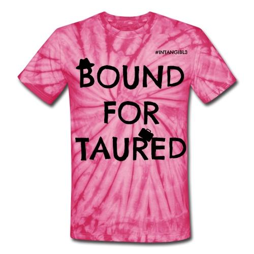 Bound For Taured Tye-Dye T-Shirt - PInk/White (Intangibl3) - Unisex Tie Dye T-Shirt