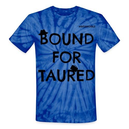 Bound For Taured Tye-Dye T-Shirt - Blue/White (Intangibl3) - Unisex Tie Dye T-Shirt