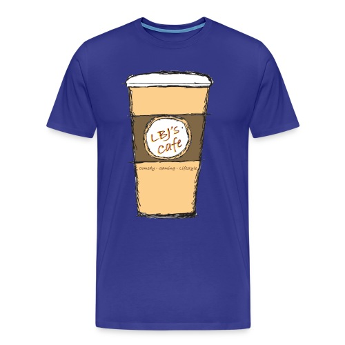 LBJ's Cafe Tee - Men's Premium T-Shirt