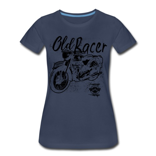 Old racer - Women's Premium T-Shirt