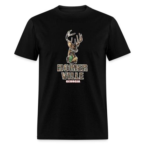 Homerville Camo Deer - Men's T-Shirt