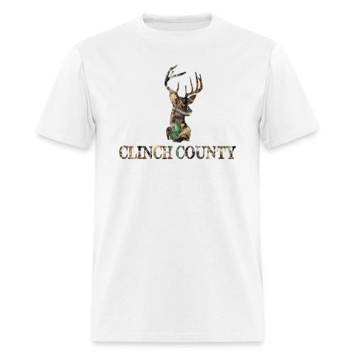 Clinch County White - Men's T-Shirt