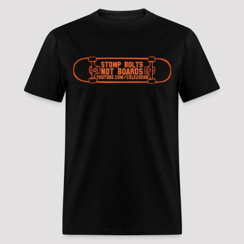 Stomp Bolts T-Shirt (Orange Print) *Multiple Colors* - Men's T-Shirt
