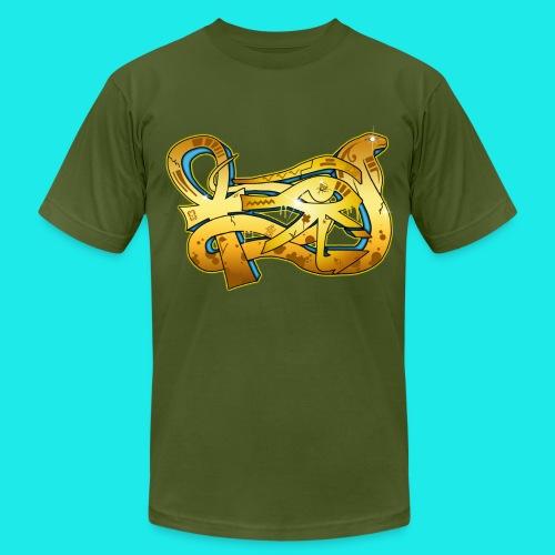 Ankh graftiti tee - Men's  Jersey T-Shirt