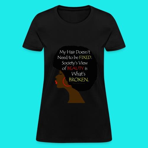 natural hair tee - Women's T-Shirt