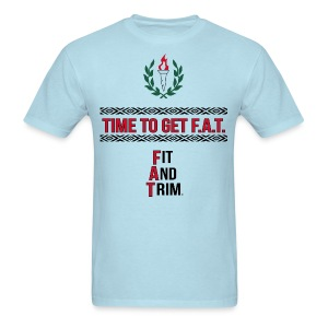 athletic slogan - Men's T-Shirt