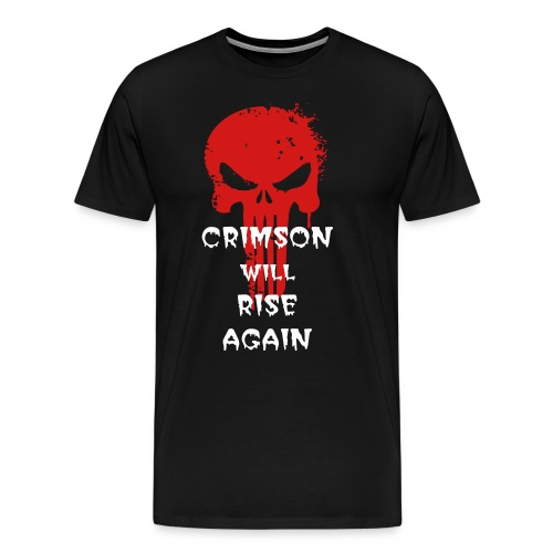 Crimson Will Rise - Men's Premium T-Shirt