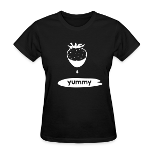 Yummy Strawberry T-Shirt - Women's T-Shirt