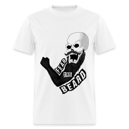 Fear The Beard T Shirt - Men's T-Shirt