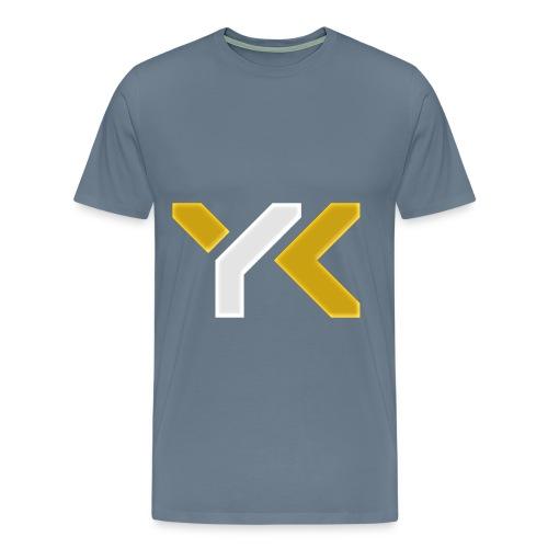 YourKnightmares Blue-Gray Men's Tee - Men's Premium T-Shirt