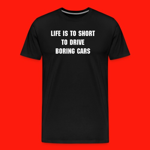 Boring Cars - Men's Premium T-Shirt