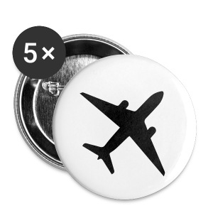 TNS PLANE PINS - Small Buttons