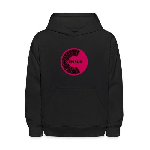 Dual Logo Kid's Hoodie (Black) - Kids' Hoodie