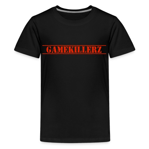 Kids T-Shirt w/ red logo  - Kids' Premium T-Shirt