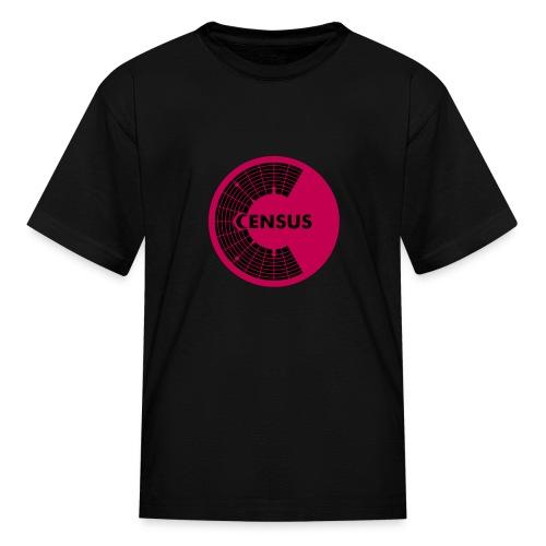 Dual Logo Kid's Shirt (Black) - Kids' T-Shirt