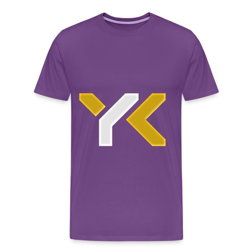 YourKnightmares Purple Men's Tee - Men's Premium T-Shirt