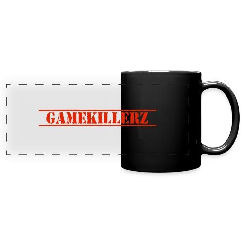 Coffee Cup w/ red logo - Full Color Panoramic Mug