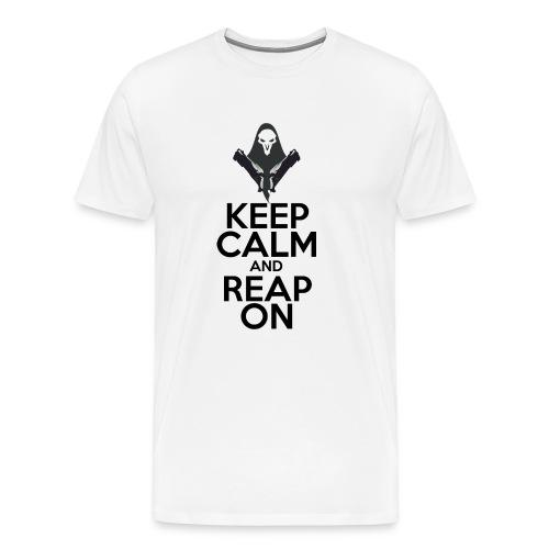 Keep Calm and Reap on - Men's Premium T-Shirt