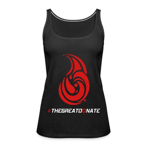 The Great Donate Women's Singlet - Women's Premium Tank Top