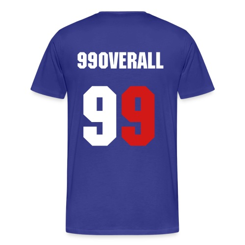 Official 99Overall T-Shirt - Men's Premium T-Shirt