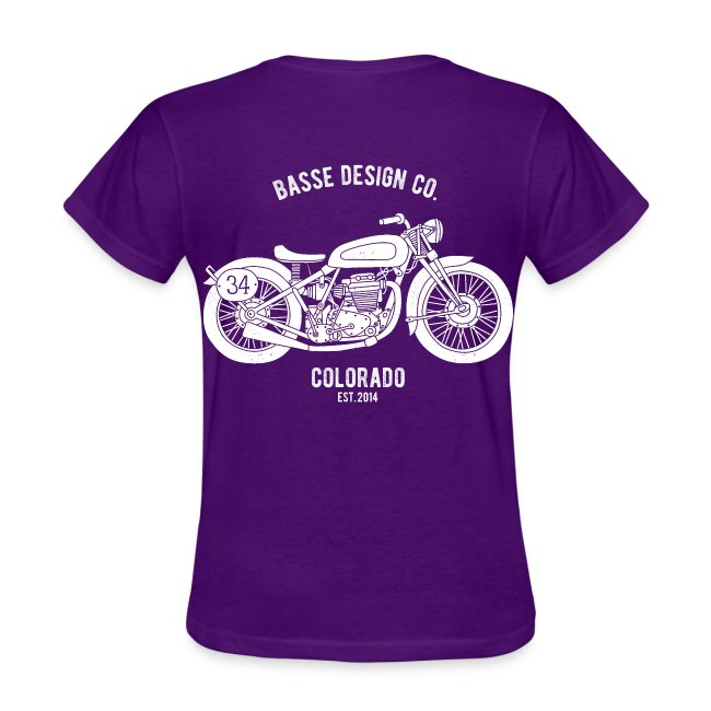 Women's T-shirt (front & back)