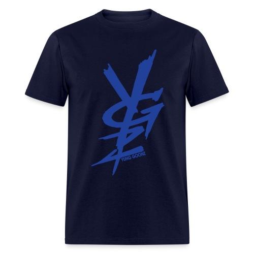 ygs blue blue - Men's T-Shirt