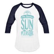 T-Shirts ~ Baseball T-Shirt ~ Season of Sun & Pleasure