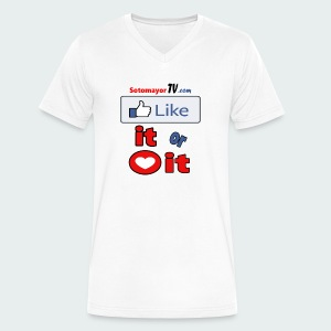 Like it - Men's V-Neck T-Shirt by Canvas