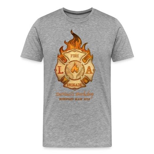 LAFB 2016 Men's Premium T-Shirt - Heather Grey - Men's Premium T-Shirt