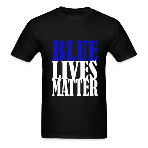 Blue Lives Matter Shirt - Men's T-Shirt