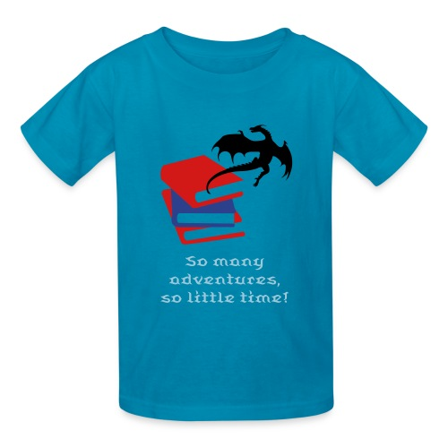 Reader T-shirt for Boys - Kids' T-Shirt
