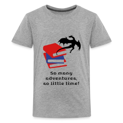 Reader T-shirt for Boys - Kids' Premium T-Shirt