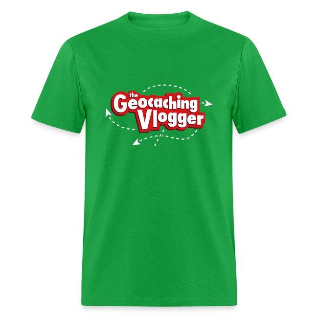 Geocaching Vlogger T-Shirt Green
