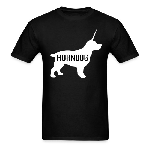 Horndog Records T-Shirt - Men's T-Shirt
