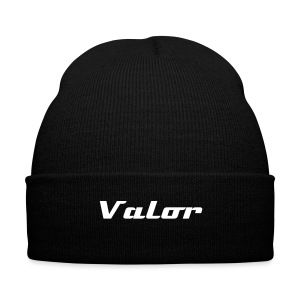 Team Valor - Knit Cap with Cuff Print