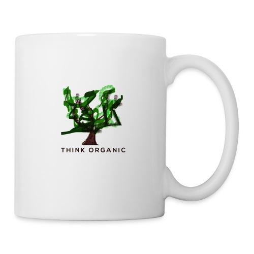 'Think Organic' Mug Life - Coffee/Tea Mug
