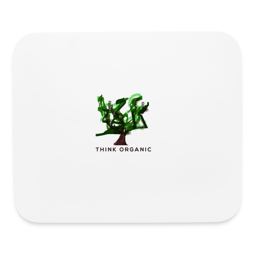 'Think Organic' mouse pad - Mouse pad Horizontal