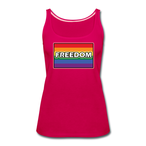 FREEDOM - Women's Premium Tank Top