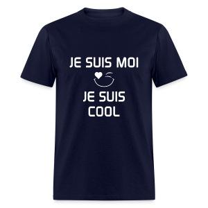 JE SUIS MOI - JE SUIS COOL 100%cotton - T-shirt pour hommes