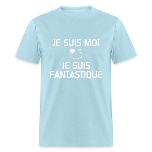 JE SUIS FANTASTIQUE  100%cotton  - T-shirt pour hommes