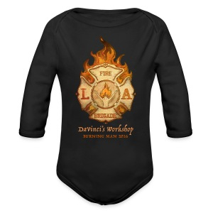 LAFB 2016 Baby Long Sleeve One Piece - Long Sleeve Baby Bodysuit