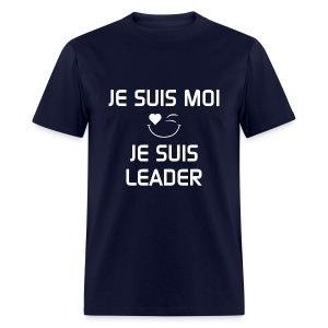 JE SUIS MOI - JE SUIS LEADER 100%cotton - T-shirt pour hommes