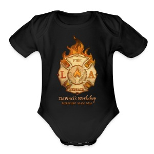 LAFB 2016 Baby Short Sleeve One Piece - Short Sleeve Baby Bodysuit