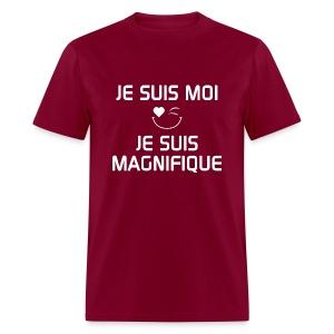 JE SUIS MAGNIFIQUE  100%cotton - T-shirt pour hommes