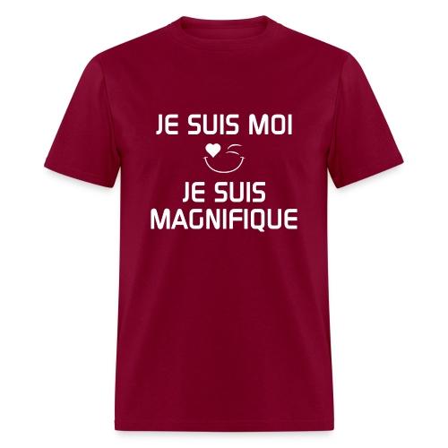 JE SUIS MAGNIFIQUE  100%cotton - Men's T-Shirt