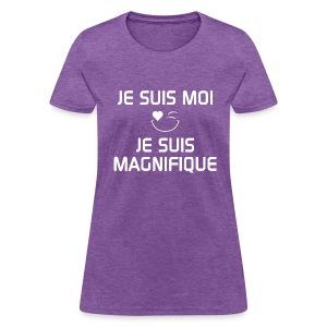 JE SUIS MAGNIFIQUE  100%cotton - T-shirt pour femmes