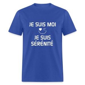 JE SUIS MOI - JE SUIS SÉRÉNITÉ 100%cotton - T-shirt pour hommes