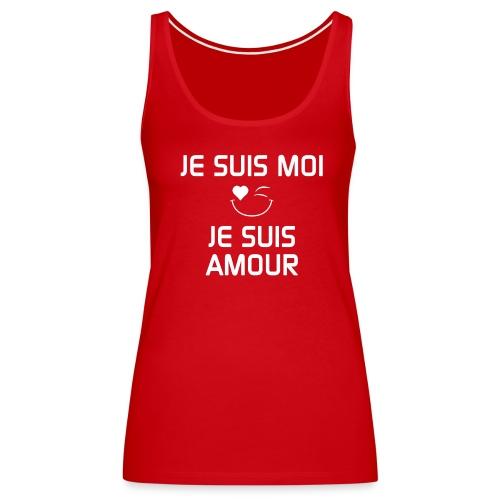 Je Suis Moi - Je Suis Amour       - Women's Premium Tank Top