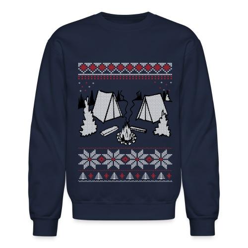 Camping Christmas / Holiday Sweater - Crewneck Sweatshirt