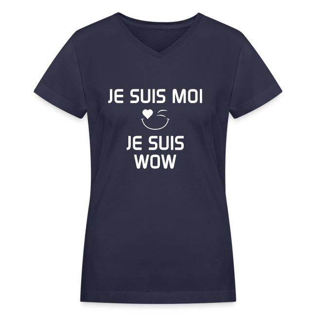 JE SUIS MOI - JE SUIS WOW  100%cotton
